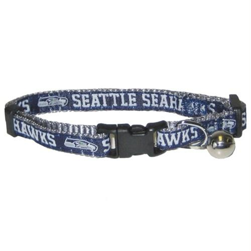 Seattle Seahawks Breakaway Cat Collar
