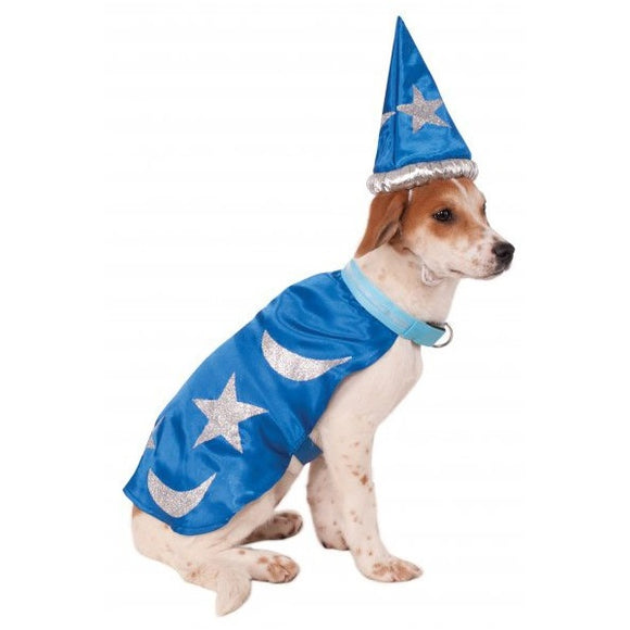 Light-Up Wizard Cape Pet Costume