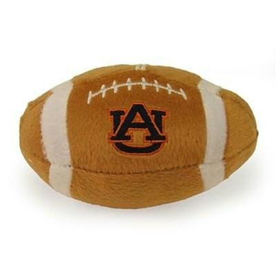 Auburn Tigers Plush Football Dog Toy
