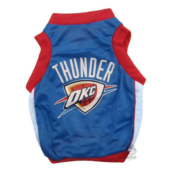 OKC Thunder Alternate Style Pet Jersey