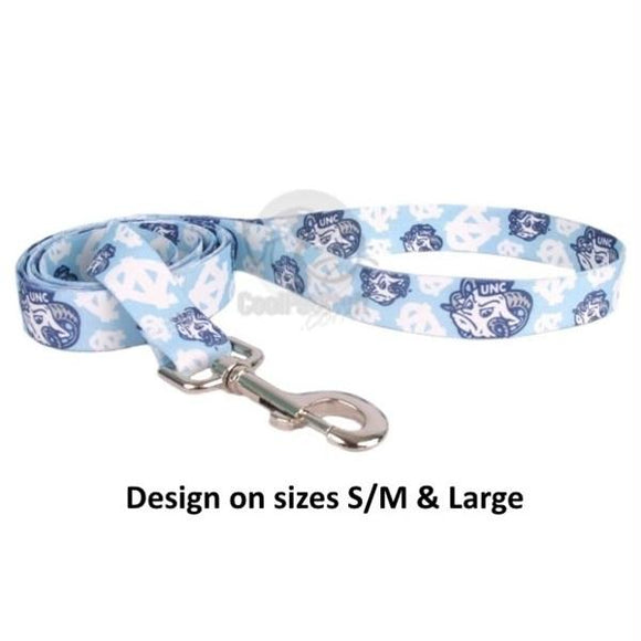 North Carolina Tarheels Nylon Leash