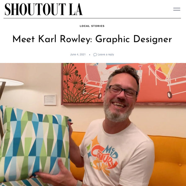 ShoutoutLA interview about Mid Century Style Shop and Palm Springs