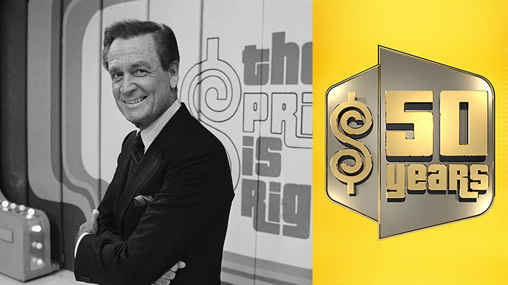 The Price is Right and Bob Barker for the 50th anniversary