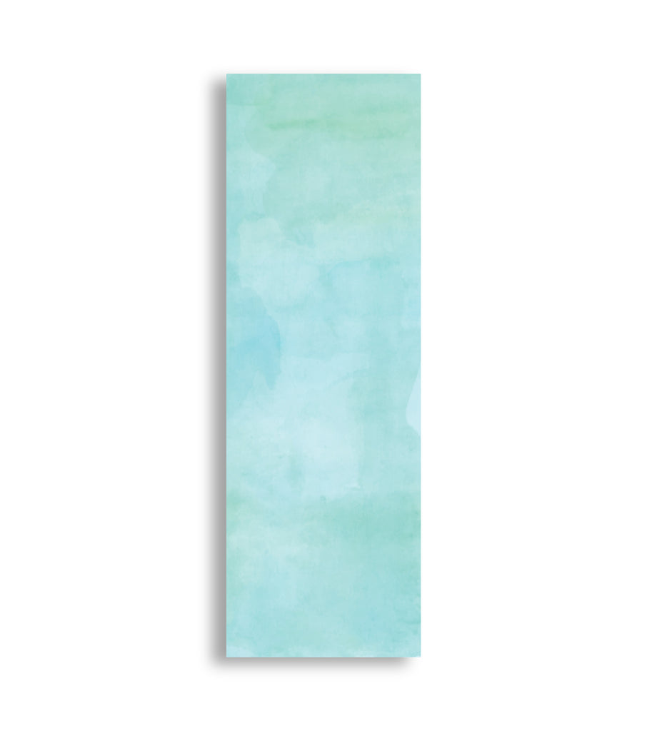 Aqua - Subtle light green water colour.