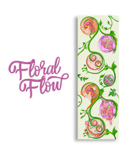 Load image into Gallery viewer, Floral Flow Yoga Mat