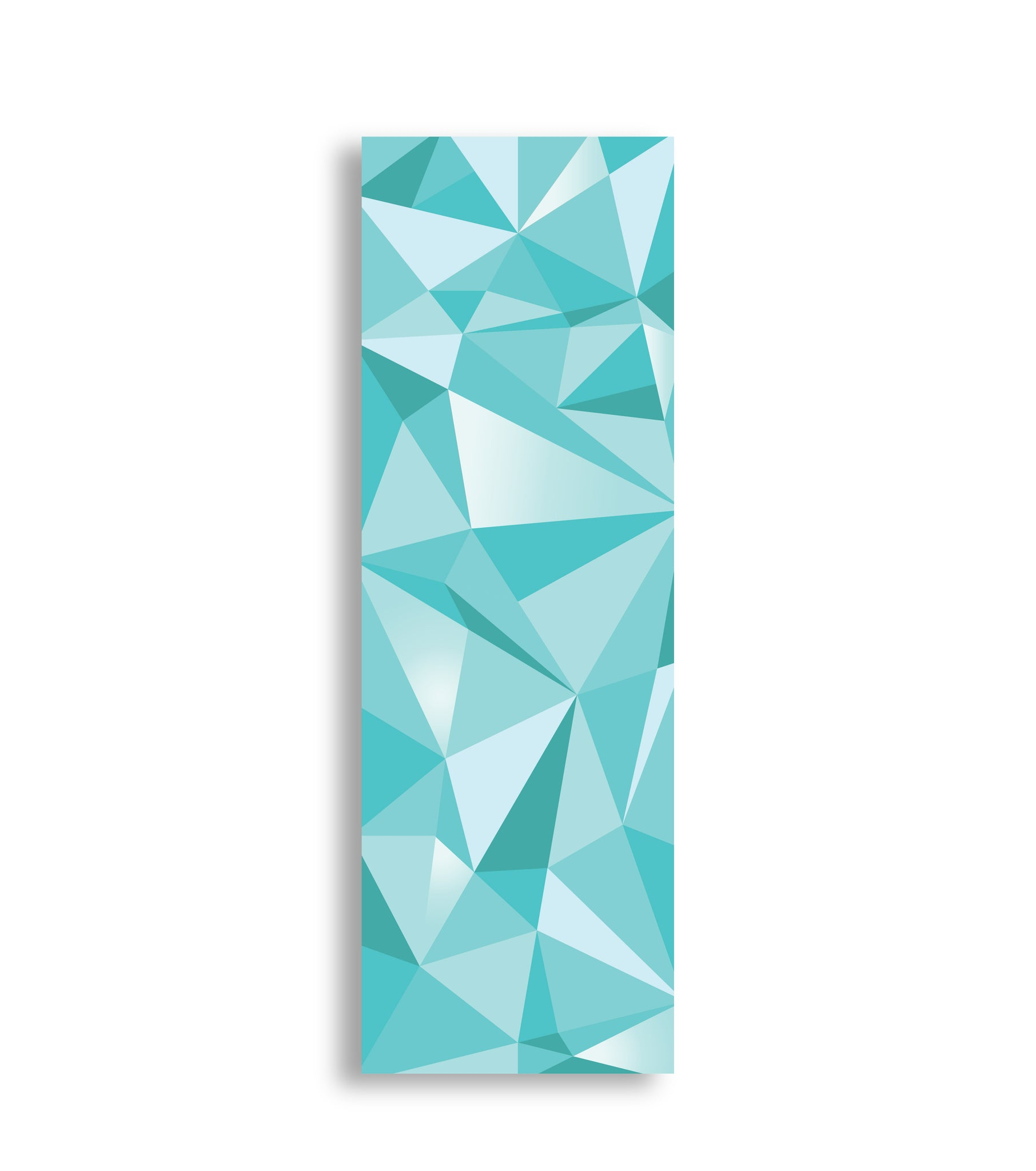 Tectonic - Modern Geometrics in Teal & Graphite.