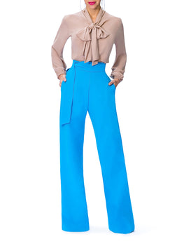 """Selene"" High Waist Wide Leg Pants"