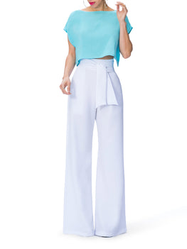 """Athena"" Belted High Waist Pants"