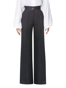 """Gabrielle"" Black High Waist Pants"