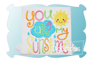 """You Are My Sunshine"" Embroidery - ADD ON"