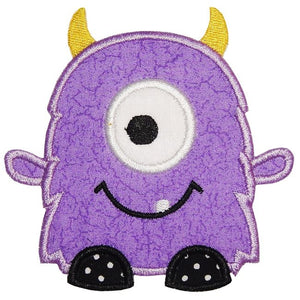 Monster Applique Embroidery - ADD ON