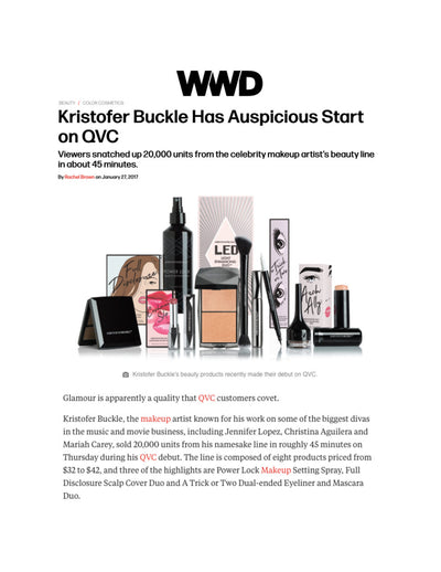 Kristofer Buckle has Auspicious Start on QVC