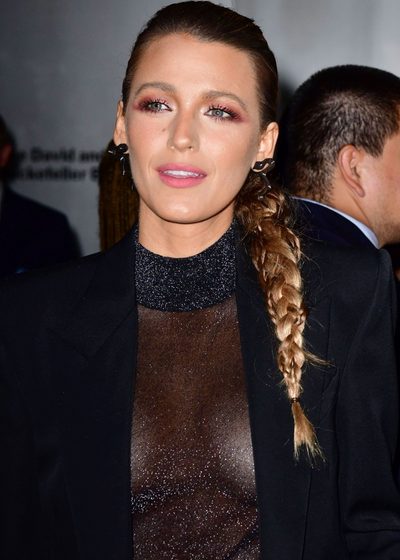 Blake Lively's Warm Smokey Eye