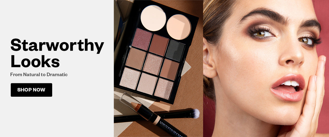 Get a flawless look with high-performance cosmetics and insider tips from celebrity makeup artist Kristofer Buckle.