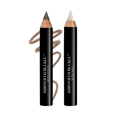 Fill. Set. Define. - For perfect looking brows, fill in sparse areas with universal brow pencil. Follow the natural arch using small, short strokes.