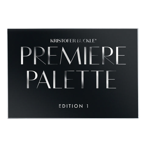 Premiere Palette Edition 1 features a curated collection of Kristofer's must have eyeshadow essentials for maintaining a look from day to night.