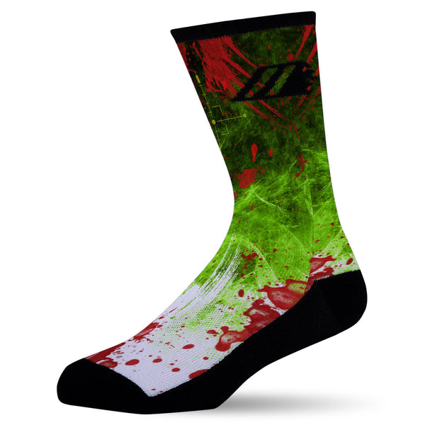ZOMBIE DESTROYER,  - Sock Motto