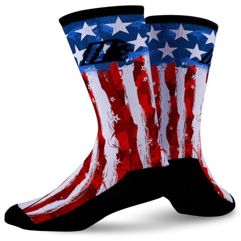 MERICA,  - Sock Motto