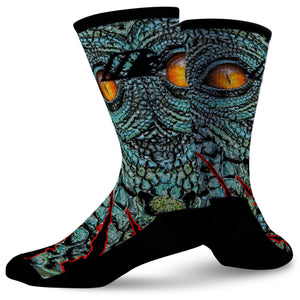 RAPTOR STRIKE,  - Sock Motto