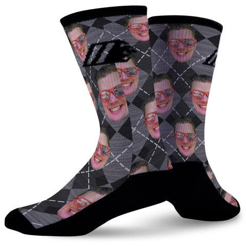 CUSTOM FACE SOCKS,  - Sock Motto