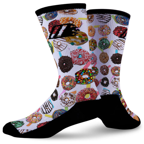 DONUT DELIGHT,  - Sock Motto
