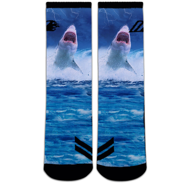 SHARK STRIKE,  - Sock Motto