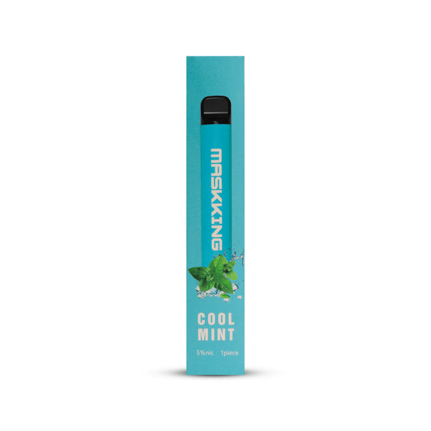 Maskking High Pro - Vape Desechable sabor cool mint en La Vaperia México
