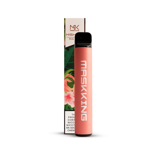 Maskking High Pro - Vape Desechable sabor peach ice en La Vaperia México