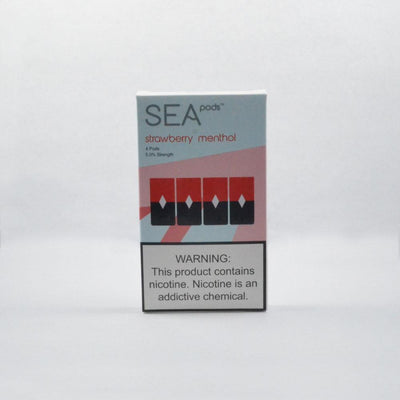 E-Liquid Strawberry Menthol SeaPod