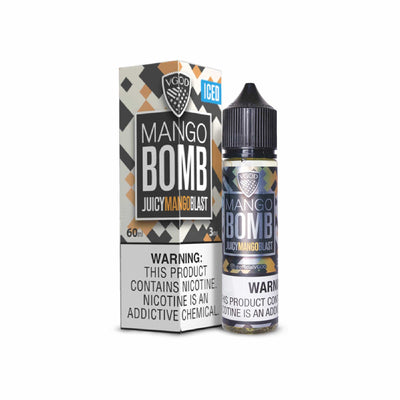 E-Liquid Mango Bomb Juicy Mango Blast