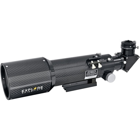 Explore Scientific 80mm Carbon Fiber Air-Spaced Triplet ED APO Refractor