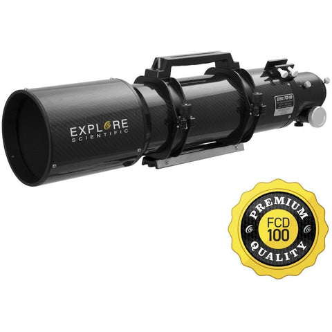 Explore Scientific 102mm FCD100 Air-Spaced Triplet ED APO Refractor in Carbon Fiber