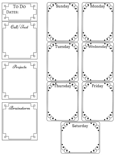 To-Do Week Planner Printable