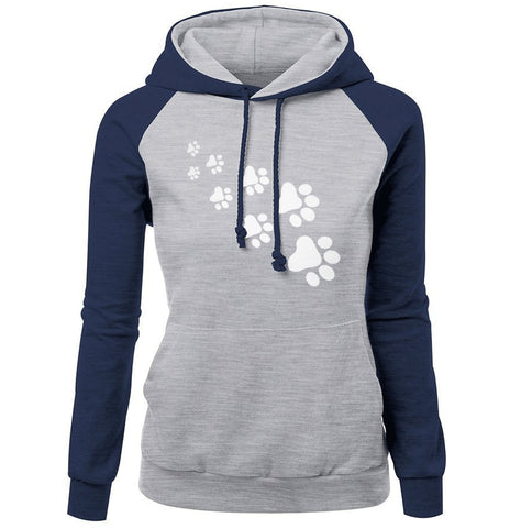Cat Paw Print Sweatshirt - Baby Buggy Outlet LLC