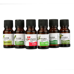 Essential Oils For Aromatherapy Diffusers 10ml - 6 Types - Baby Buggy Outlet LLC