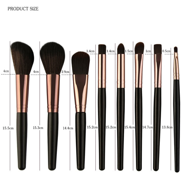 Makeup Brush Set 25pcs - 7 Design Types - Baby Buggy Outlet LLC
