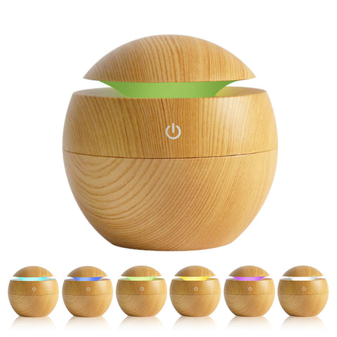 Aromatherapy Diffuser 30ml 6 LED Colors - 2 Design Types - Baby Buggy Outlet LLC