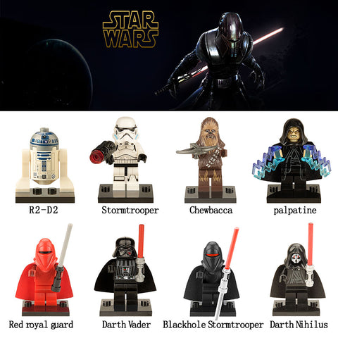 Return Of The Jedi Mini Figures - 8 Design Types - Baby Buggy Outlet LLC