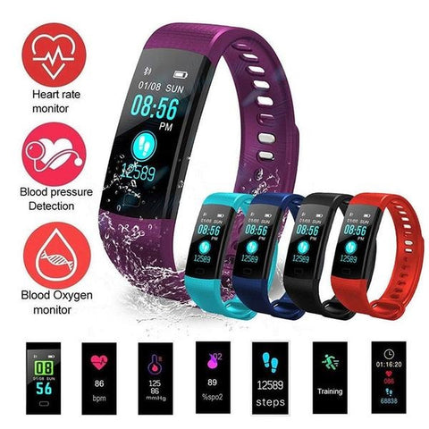 Sports Fitness Smartwatch Android & iOS - 5 Colors - Baby Buggy Outlet LLC