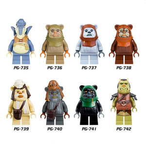 Star Wars Mini Figures - 8 Design Types - Baby Buggy Outlet LLC