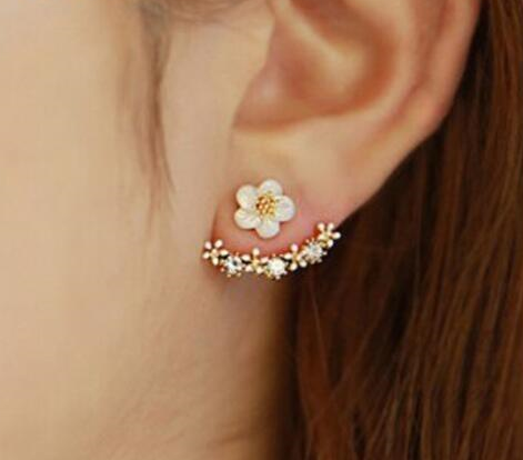 Flower Stud Earrings - 3 Design Types - Baby Buggy Outlet LLC