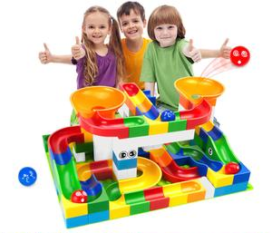 Marble Race Big Size Bricks - Baby Buggy Outlet LLC