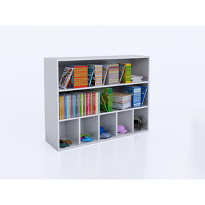 Whitney White Cubby And Shelf Cabinet