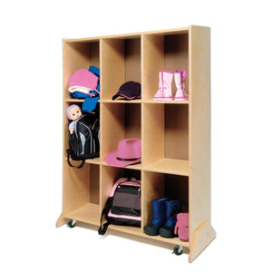 9 Cubby Storage And Teaching Center - Baby Buggy Outlet LLC