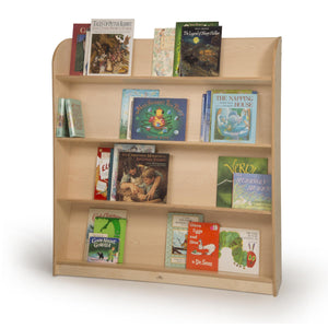 Single Sided Library Shelving