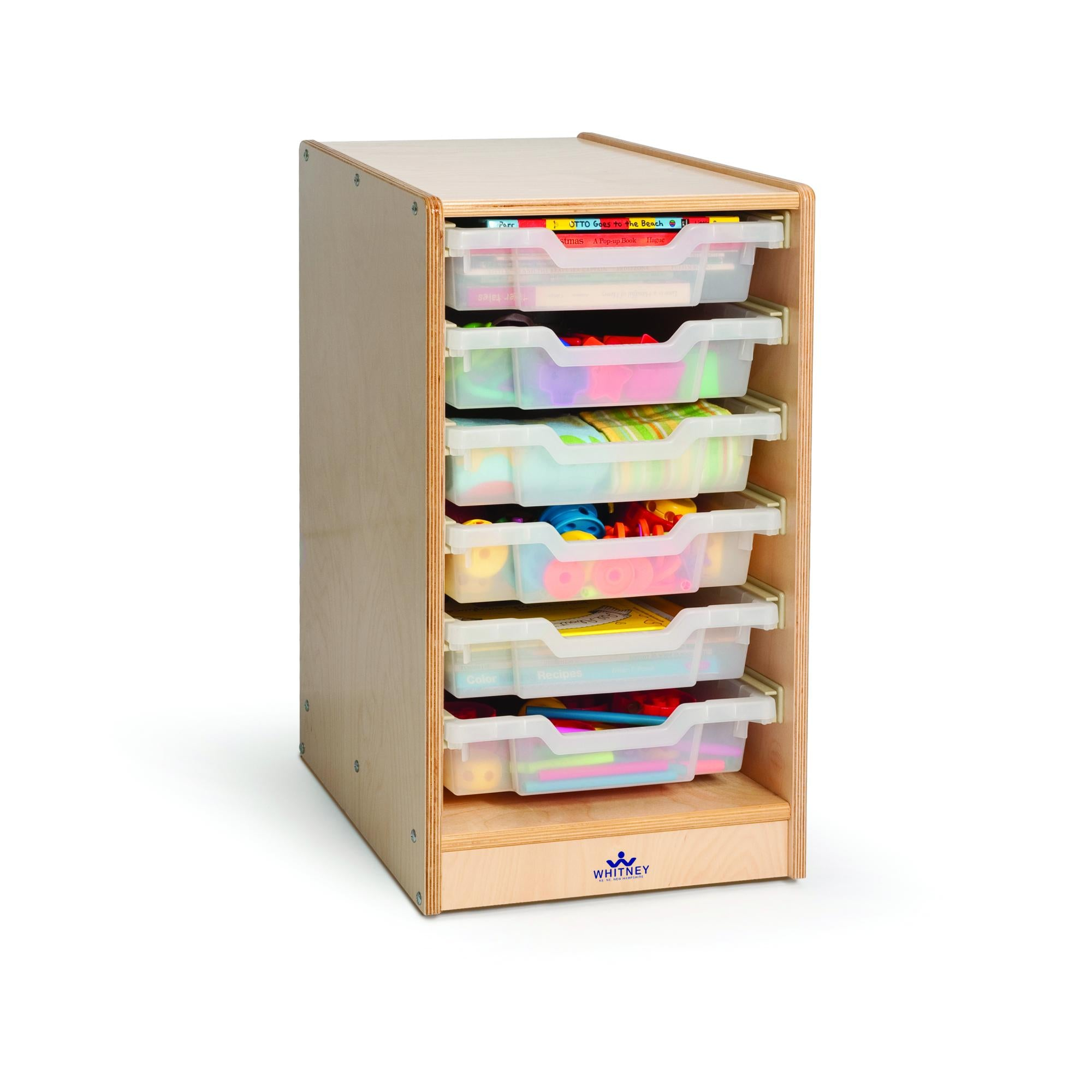 Clear Tray Single Storage Cabinet - Baby Buggy Outlet LLC
