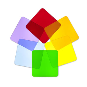Color Wheel Squares - Set Of 6 - Baby Buggy Outlet LLC