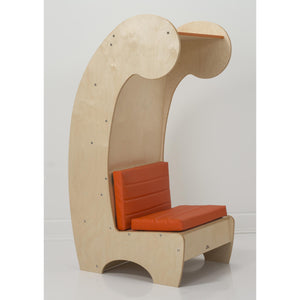 Contemporary Reading Chair And Bookcase