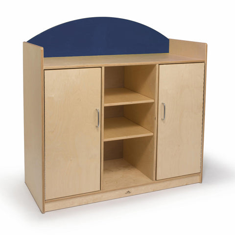 Rainbow Storage Cabinet- Blue