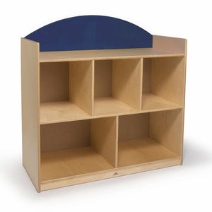 Rainbow Sturdy Storage Cabinet- Blue